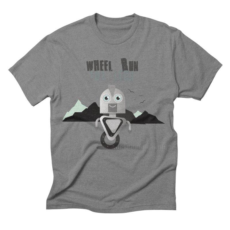 Wheel work for legs Men's Triblend T-shirt by P34K's shop