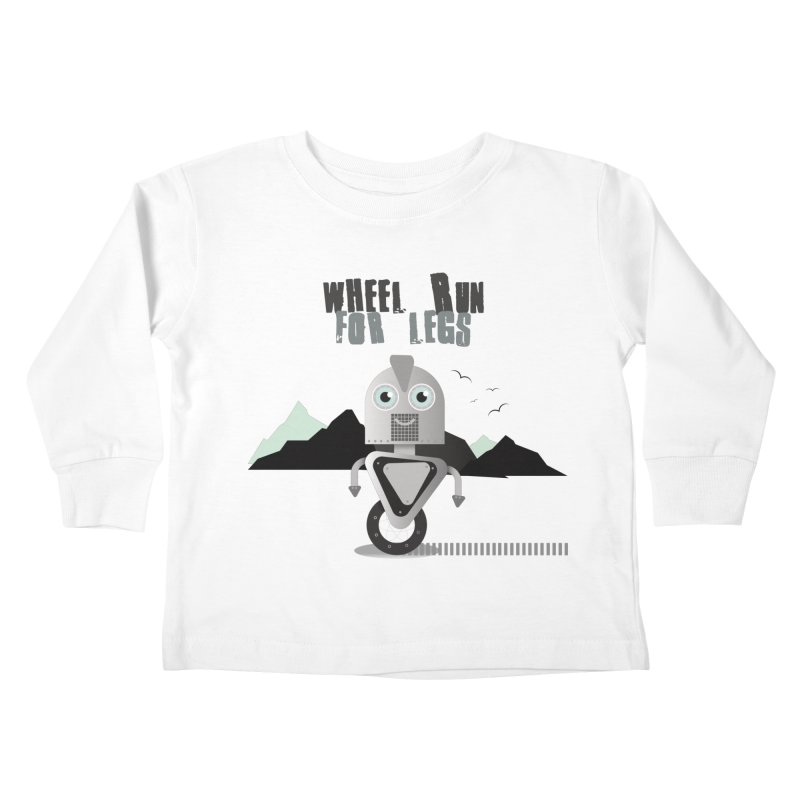 Wheel work for legs Kids Toddler Longsleeve T-Shirt by P34K's shop