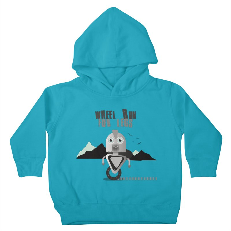 Wheel work for legs Kids Toddler Pullover Hoody by P34K's shop