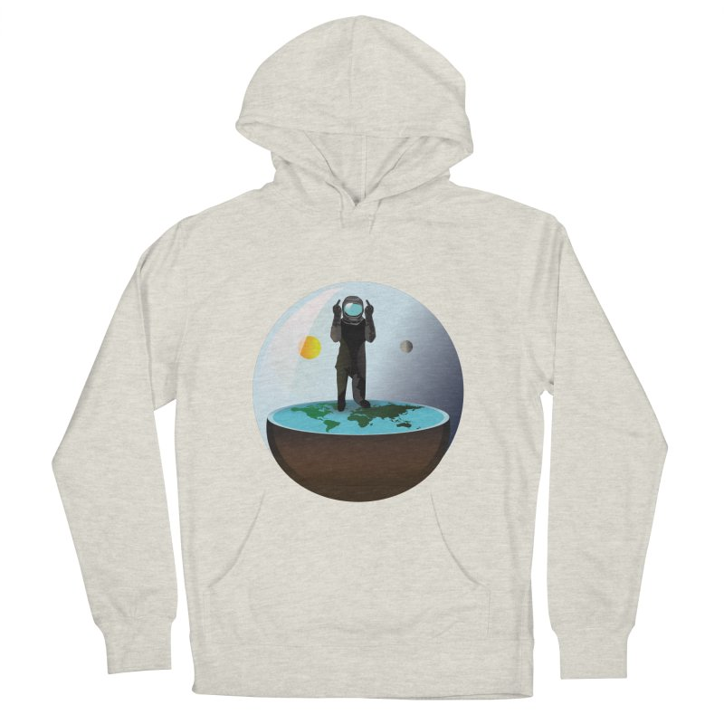 Flat World Men's Pullover Hoody by P34K's shop