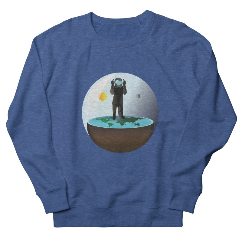 Flat World Women's Sweatshirt by P34K's shop