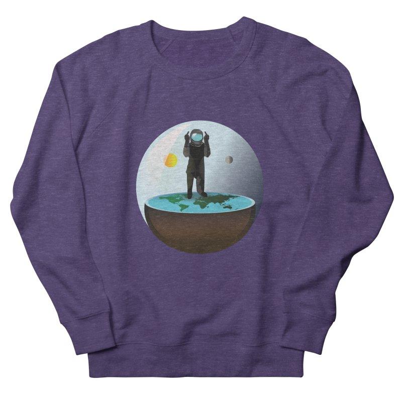 Flat World Women's Sweatshirt by P34K's shop