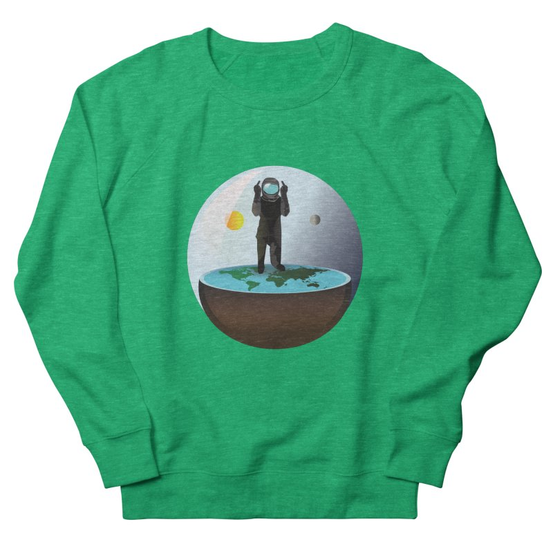 Flat World Men's Sweatshirt by P34K's shop