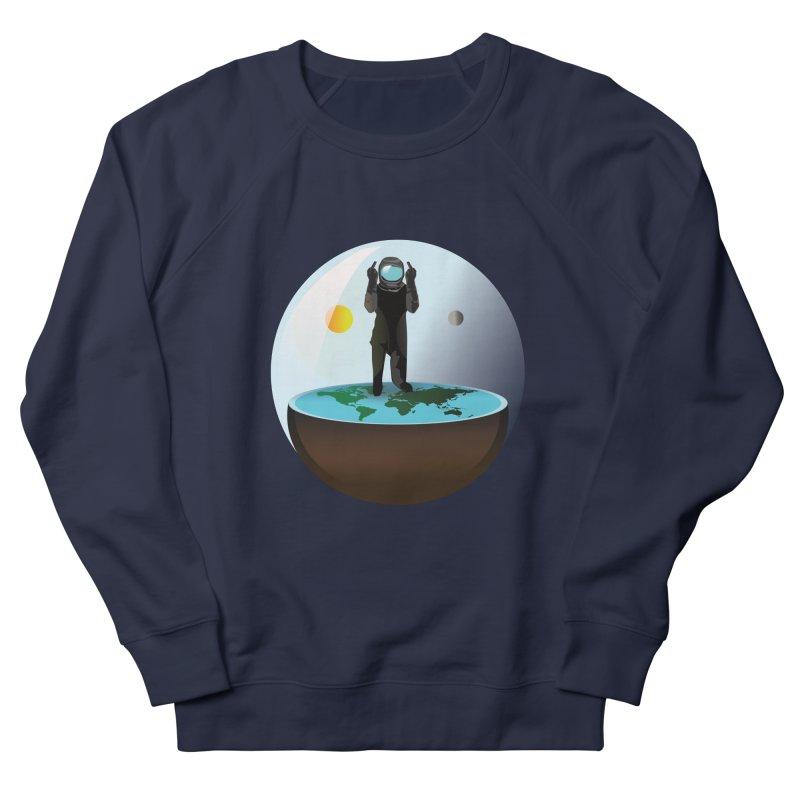 Flat World Men's Sweatshirt by P34K's shop