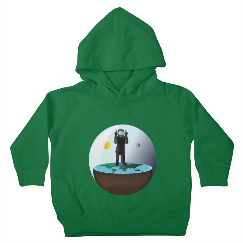 Flat World Kids Toddler Pullover Hoody by P34K's shop