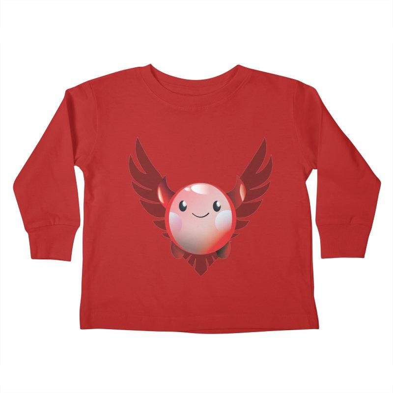 Little Evil Kids Toddler Longsleeve T-Shirt by P34K's shop