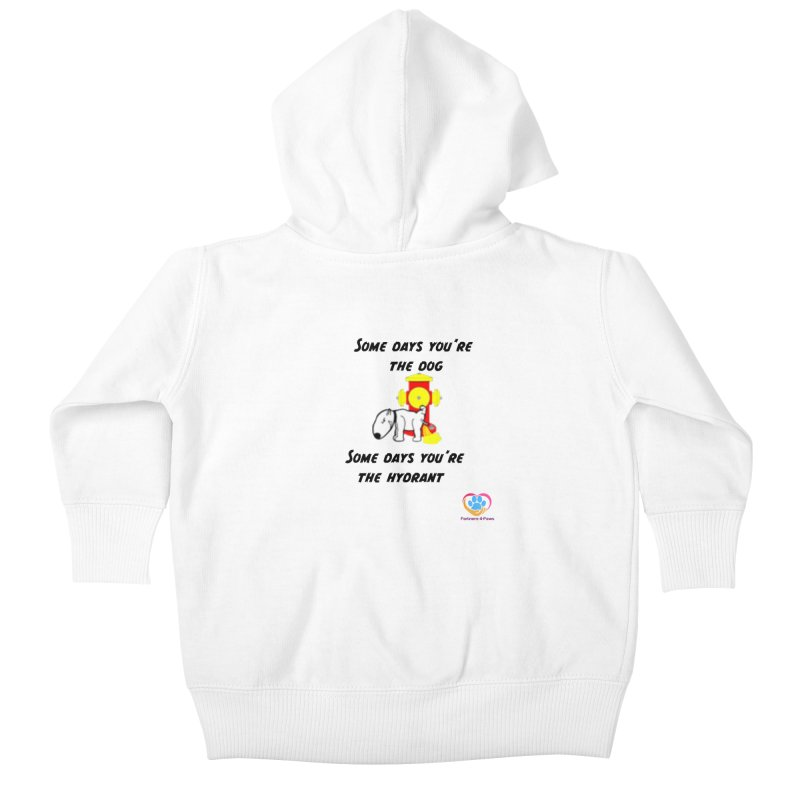 Some days are better than others Kids Baby Zip-Up Hoody by The Gear Shop