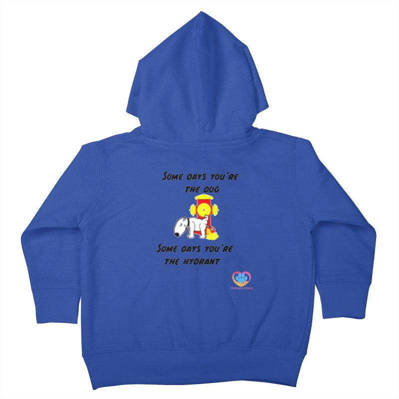 Some days are better than others Kids Toddler Zip-Up Hoody by The Gear Shop