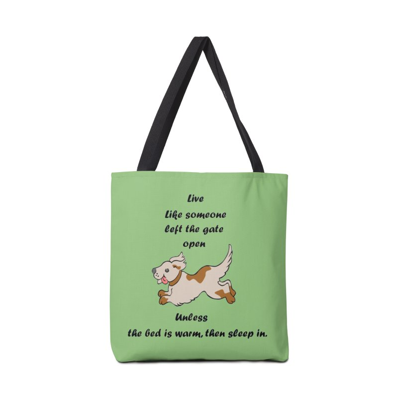 Live life right Accessories Tote Bag Bag by The Gear Shop