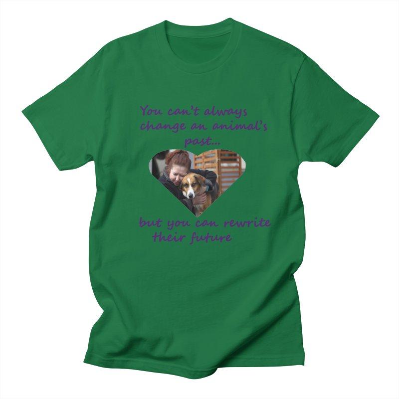 Rewrite an animals future Men's T-Shirt by The Gear Shop