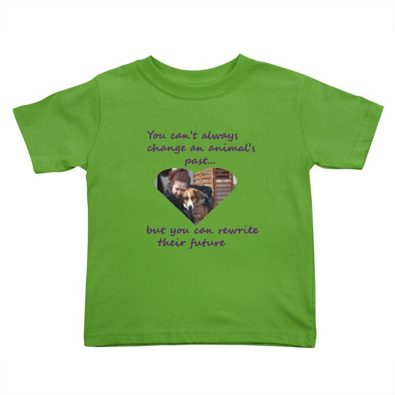 Rewrite an animals future Kids Toddler T-Shirt by The Gear Shop
