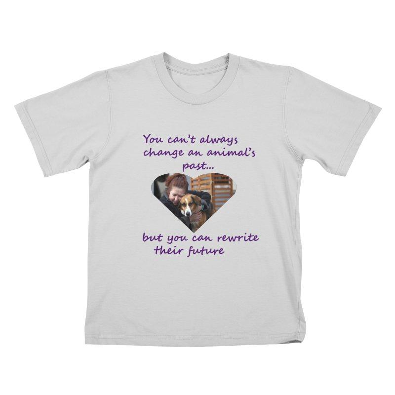 Rewrite an animals future Kids T-Shirt by The Gear Shop
