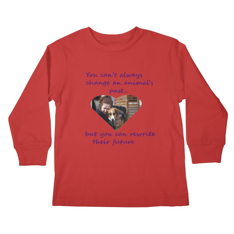 Rewrite an animals future Kids Longsleeve T-Shirt by The Gear Shop