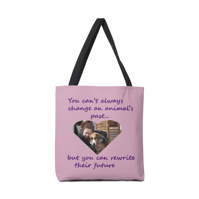 Rewrite an animals future Accessories Tote Bag Bag by The Gear Shop