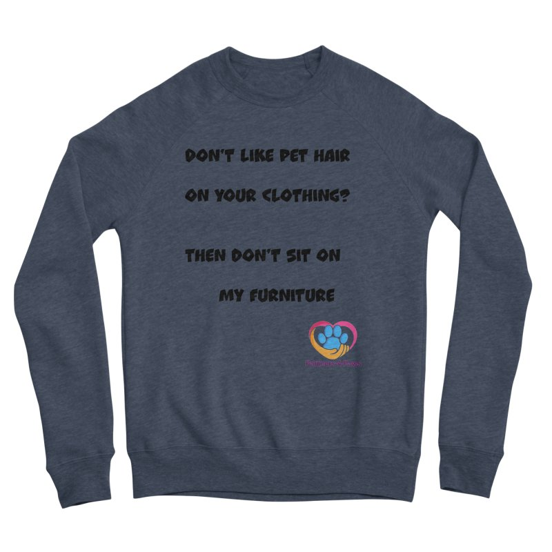 Friends a little too fastidious?  Tell them where you stand. Men's Sponge Fleece Sweatshirt by The Gear Shop