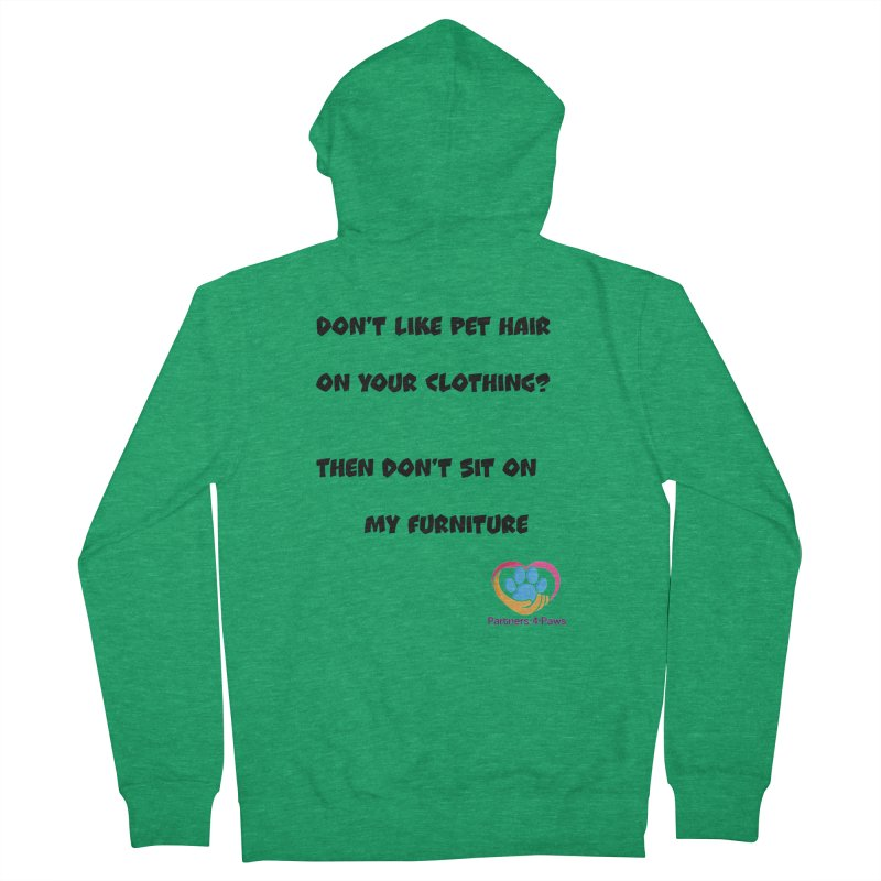 Friends a little too fastidious?  Tell them where you stand. Men's Zip-Up Hoody by The Gear Shop