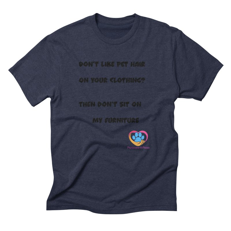 Friends a little too fastidious?  Tell them where you stand. Men's Triblend T-Shirt by The Gear Shop