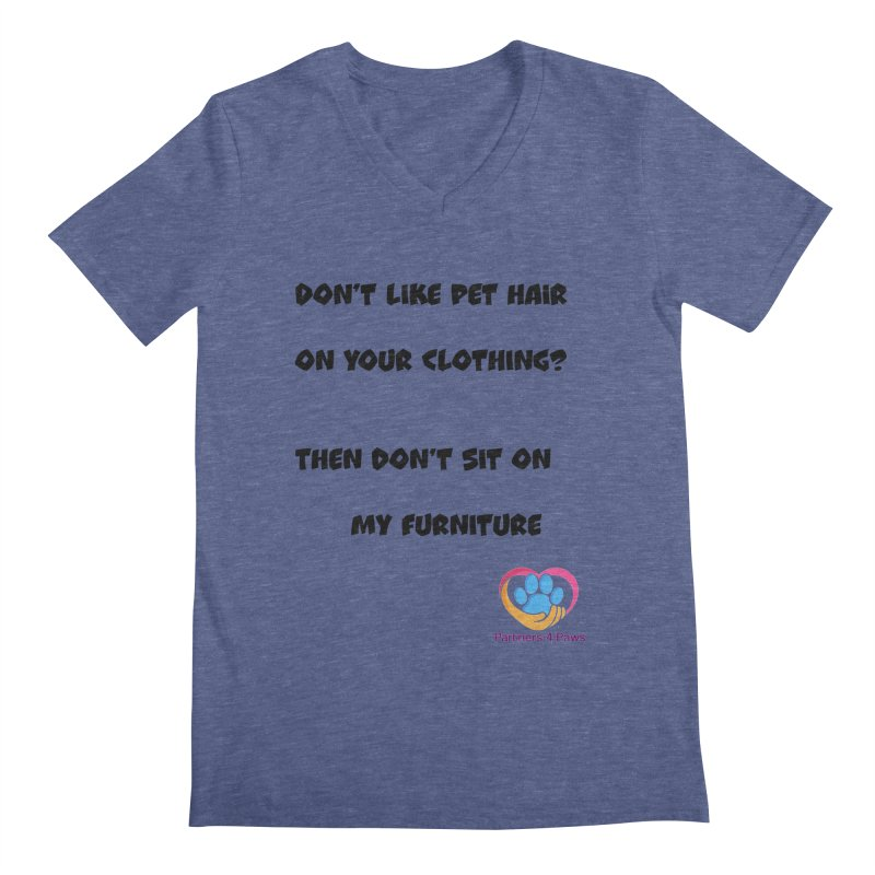 Friends a little too fastidious?  Tell them where you stand. Men's Regular V-Neck by The Gear Shop