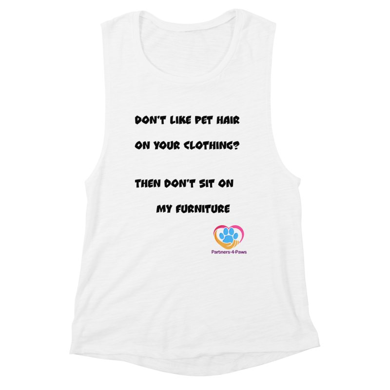 Friends a little too fastidious?  Tell them where you stand. Women's Tank by The Gear Shoppe