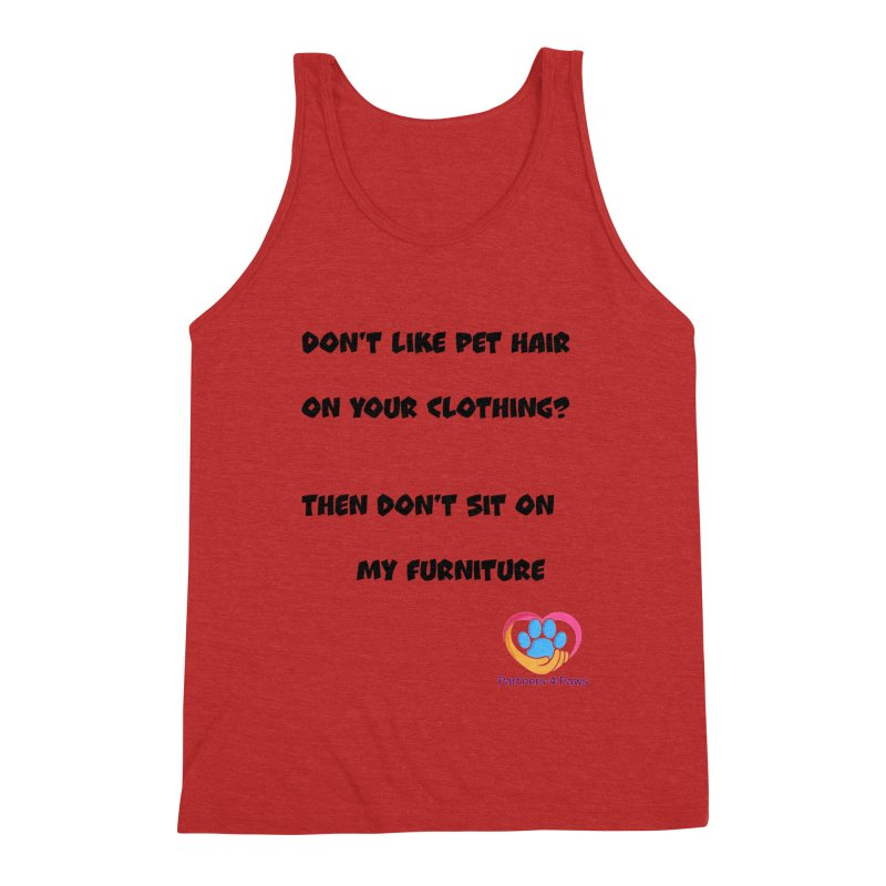 Friends a little too fastidious?  Tell them where you stand. Men's Triblend Tank by The Gear Shop