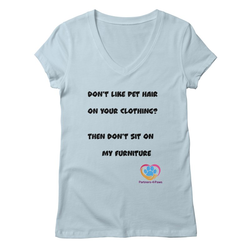 Friends a little too fastidious?  Tell them where you stand. Women's V-Neck by The Gear Shoppe