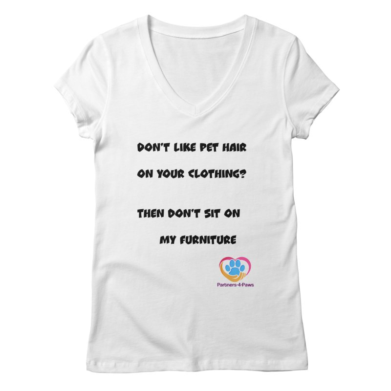 Friends a little too fastidious?  Tell them where you stand. Women's Regular V-Neck by The Gear Shop