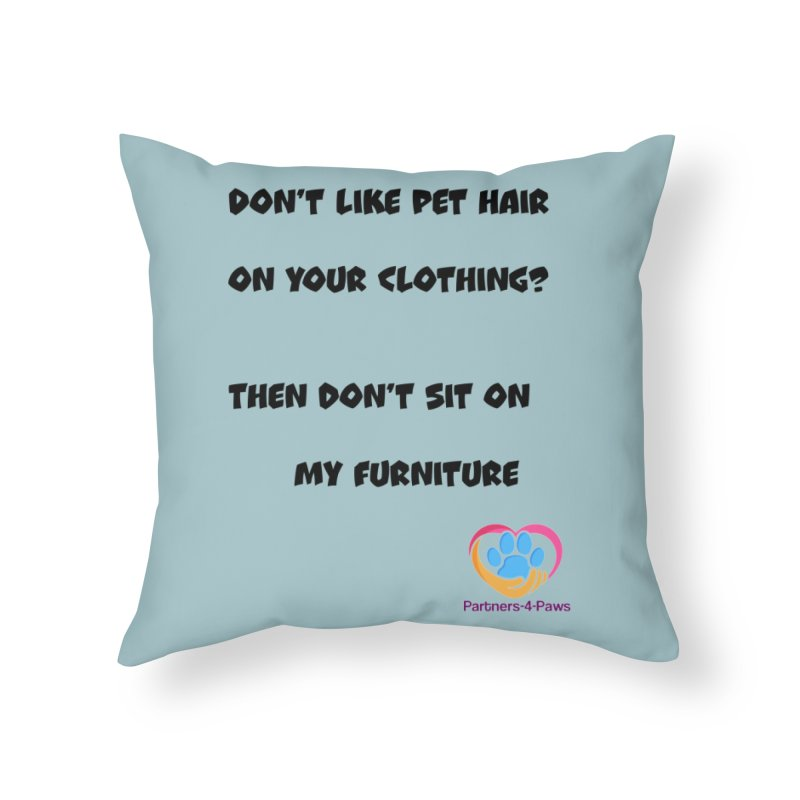 Friends a little too fastidious?  Tell them where you stand. Home Throw Pillow by The Gear Shop