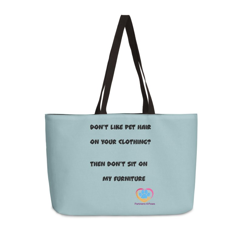 Friends a little too fastidious?  Tell them where you stand. Accessories Weekender Bag Bag by The Gear Shop