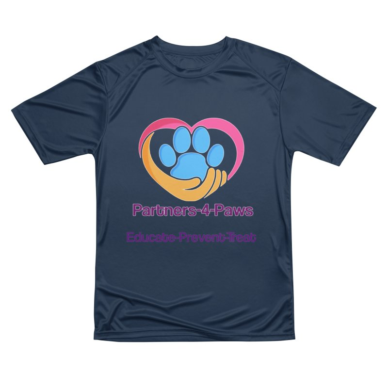 Partners-4-Paws logo shirt Women's Performance Unisex T-Shirt by The Gear Shop