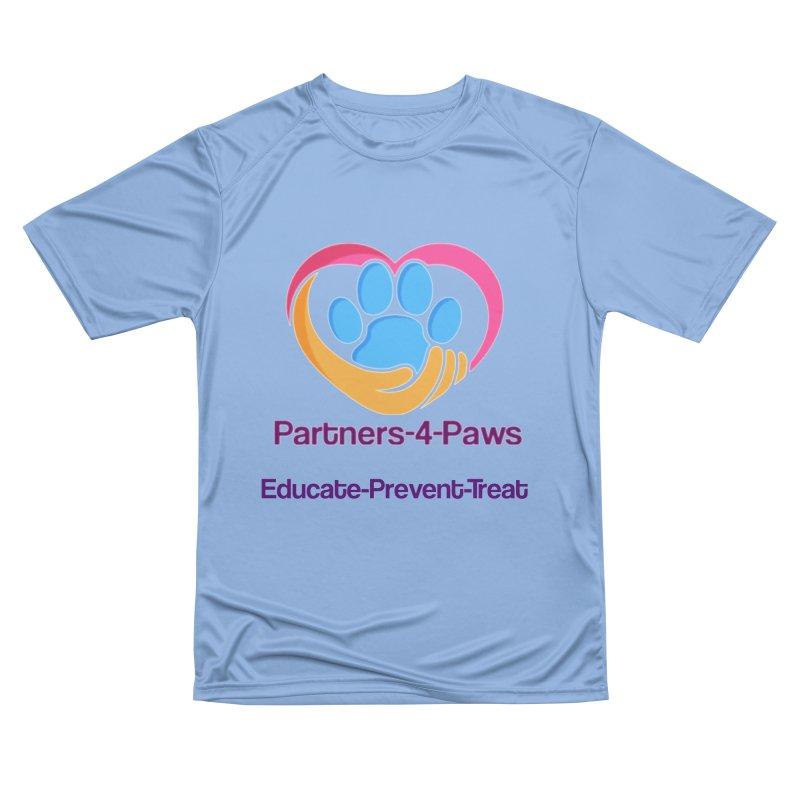 Partners-4-Paws logo shirt Men's Performance T-Shirt by The Gear Shop
