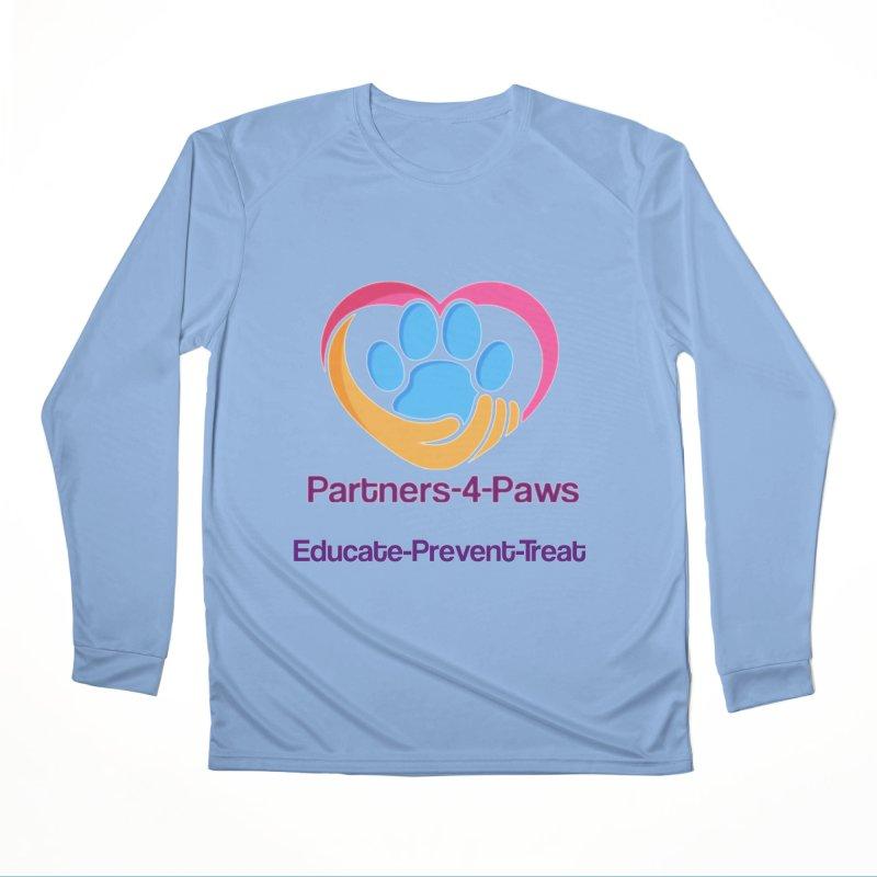 Partners-4-Paws logo shirt Women's Performance Unisex Longsleeve T-Shirt by The Gear Shop