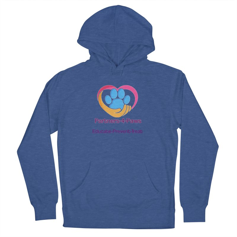 Partners-4-Paws logo shirt Women's Pullover Hoody by The Gear Shoppe
