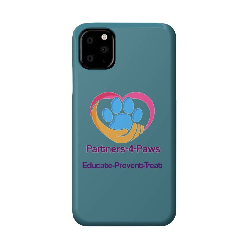Partners-4-Paws logo shirt Accessories Phone Case by The Gear Shop