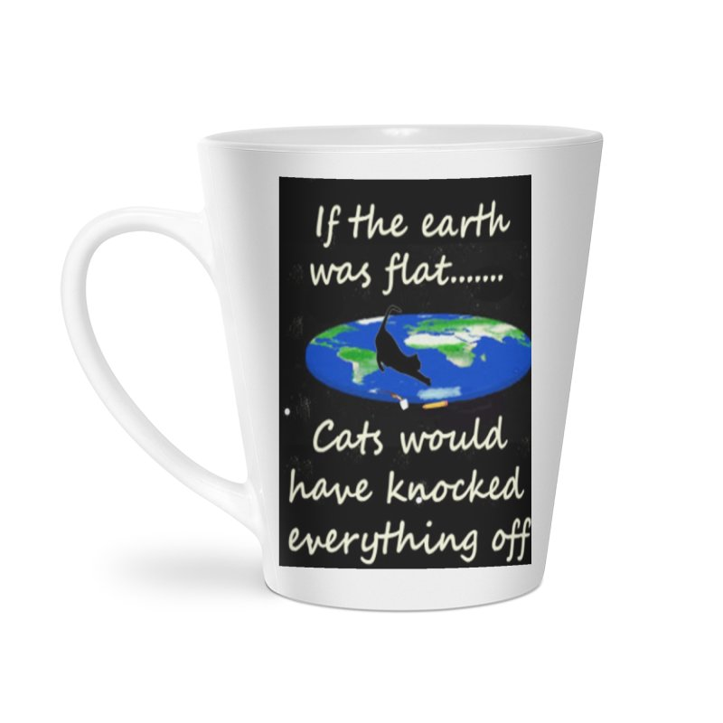 Flat Earth Cats Accessories Latte Mug by The Gear Shop