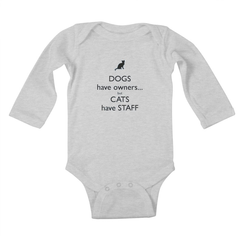 And the ruler is... Kids Baby Longsleeve Bodysuit by The Gear Shop