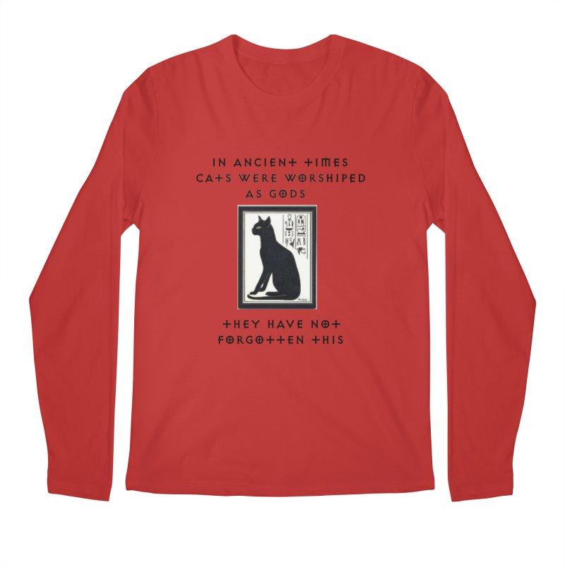 Cats are gods Men's Regular Longsleeve T-Shirt by The Gear Shop