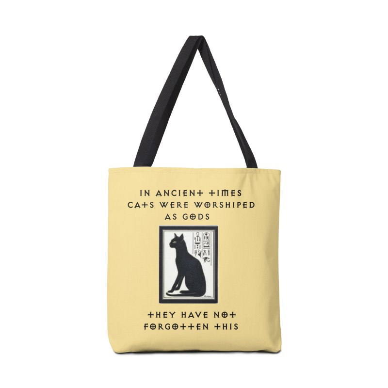 Cats are gods Accessories Tote Bag Bag by The Gear Shop