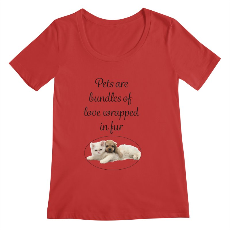 Bundles of love Women's Regular Scoop Neck by The Gear Shop