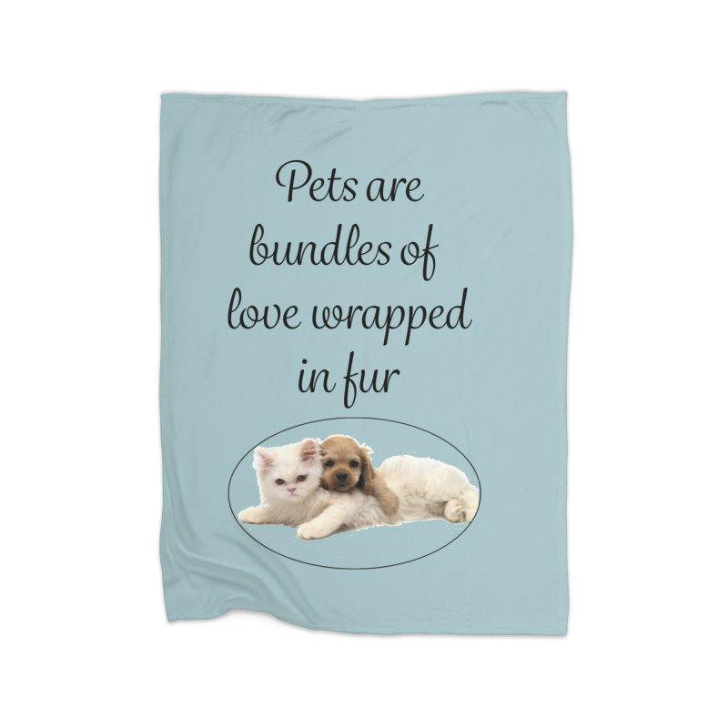 Bundles of love Home Fleece Blanket Blanket by The Gear Shop