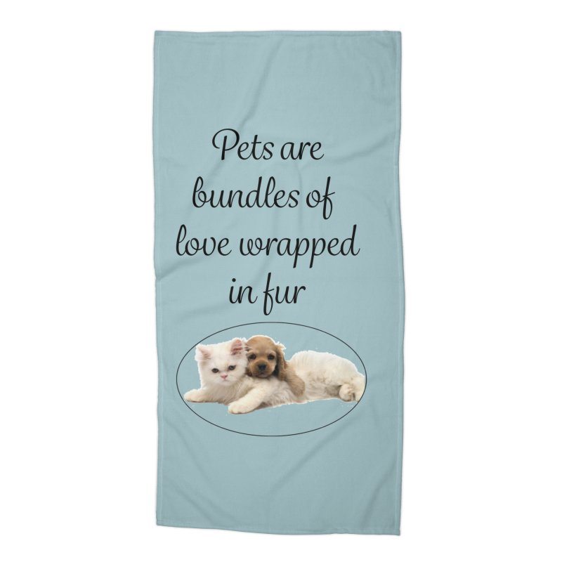 Bundles of love Accessories Beach Towel by The Gear Shop