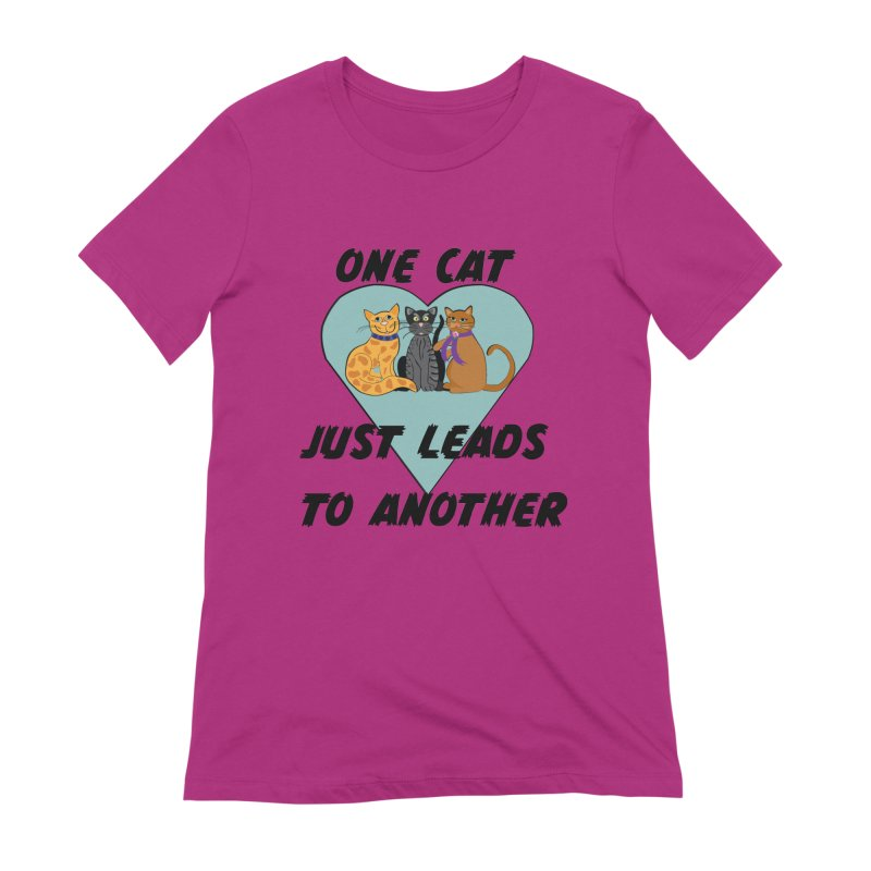 Cat Lovers Women's Extra Soft T-Shirt by The Gear Shop