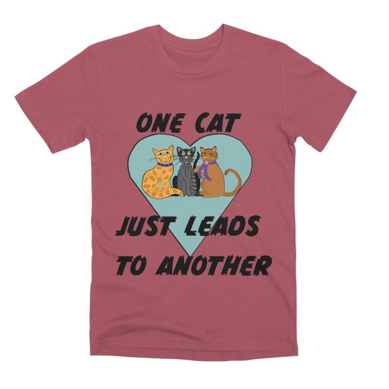 Cat Lovers Men's Premium T-Shirt by The Gear Shop