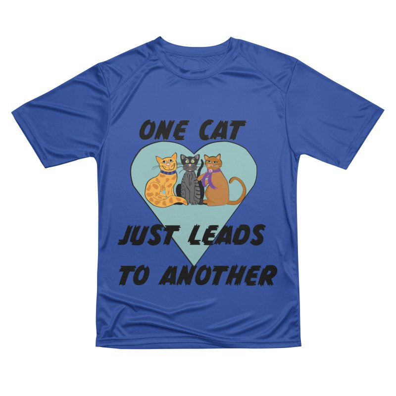 Cat Lovers Women's Performance Unisex T-Shirt by The Gear Shop