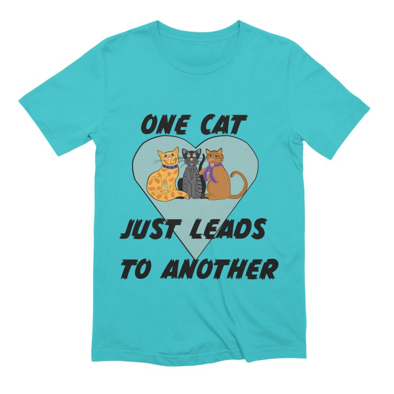 Cat Lovers Men's Extra Soft T-Shirt by The Gear Shop