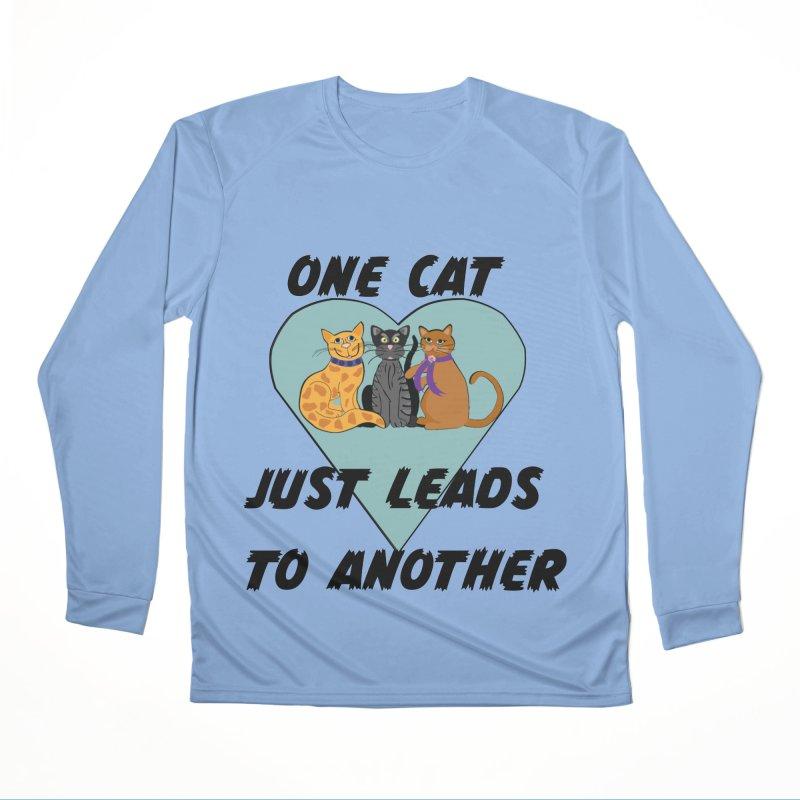 Cat Lovers Women's Performance Unisex Longsleeve T-Shirt by The Gear Shop