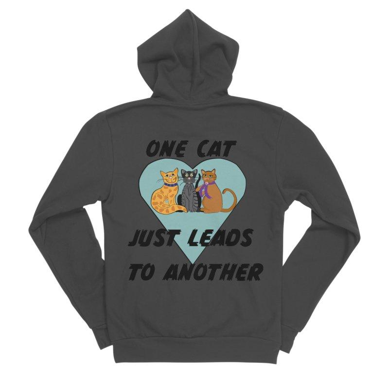 Cat Lovers Women's Sponge Fleece Zip-Up Hoody by The Gear Shop