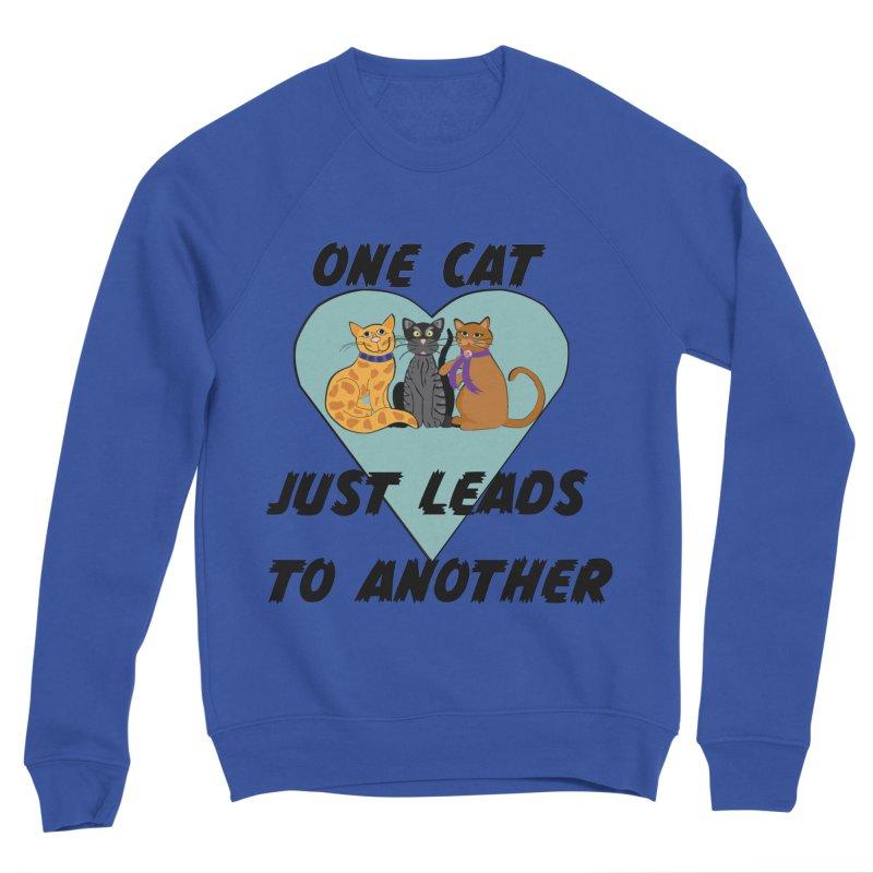 Cat Lovers Men's Sponge Fleece Sweatshirt by The Gear Shop