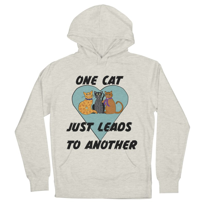 Cat Lovers Women's French Terry Pullover Hoody by The Gear Shop