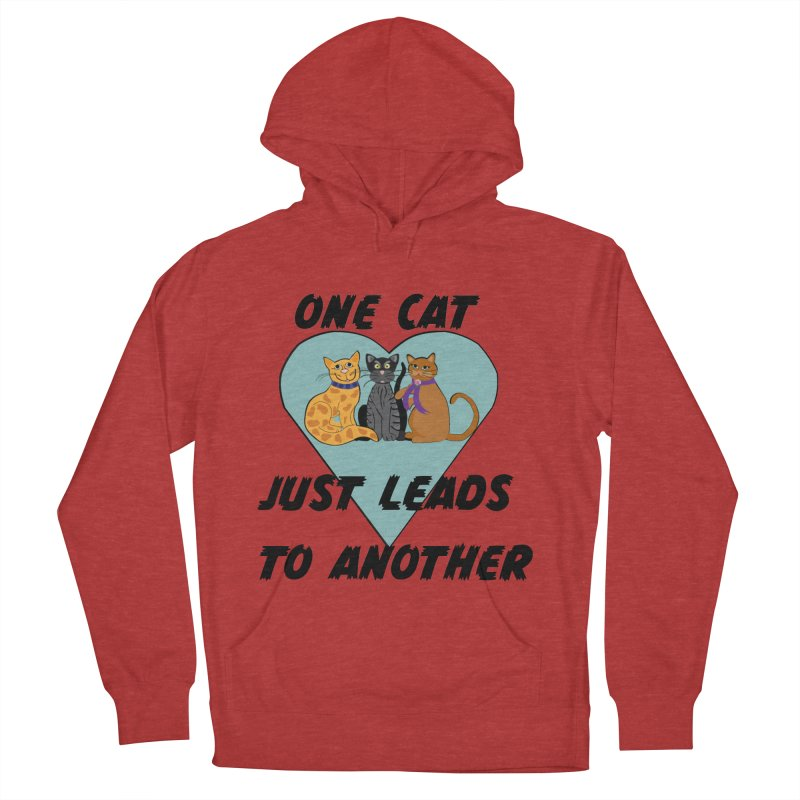 Cat Lovers Men's French Terry Pullover Hoody by The Gear Shop