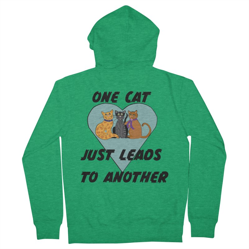 Cat Lovers Men's Zip-Up Hoody by The Gear Shop